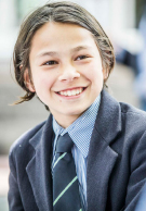 Melbourne Grammar School happy boy